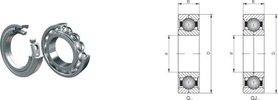 Łożysko Q 306 DKF 30x72x19