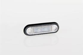 LAMPA LAMPKA OBRYSOWA DIODOWA LED 12/24V CZERWONA