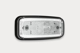 LAMPA LAMPKA OBRYSOWA DIODOWA LED 12/24V BIAŁA