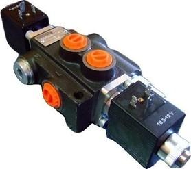 Rozdzielacz 1 sekcyjny 40 L/min. sterowany elektrycznie