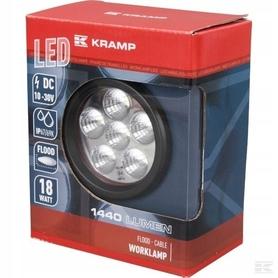 LAMPA HALOGEN ROBOCZY LED 18W 1440 lm KRAMP