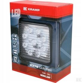 LAMPA HALOGEN ROBOCZY LED 27W 2376 lm KRAMP