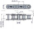 ŁAŃCUCH ROLKOWY WARYŃSKI ORIGIN 16B-1 1