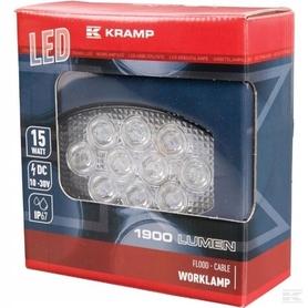 LAMPA HALOGEN ROBOCZY LED OWALNA 15W 1900 lm KRAMP